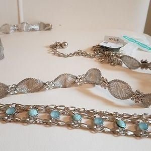 Chain belts set of 2